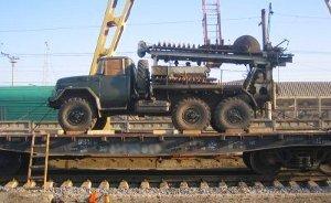 ЖД перевозка автотранспорта на колесном ходу, особенности размещения. Часть 2