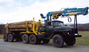 Автоспецтехника: Лесовозы