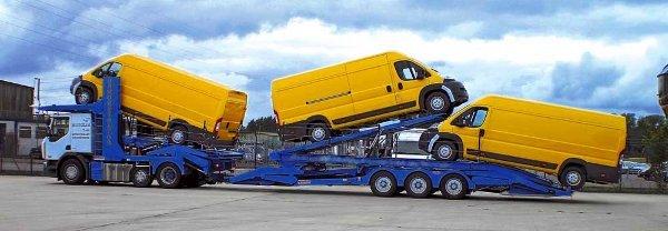 Перевозки автомобилей по России автовозом