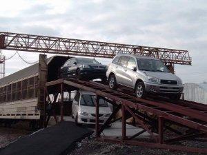 ЖД перевозки автомобилей по России