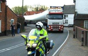 Тонкости перевозки негабаритных грузов