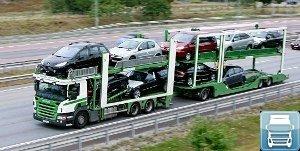 Перевозки автомобилей по России прицепом автовозом