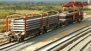 Особенности железнодорожной перевозки рельс