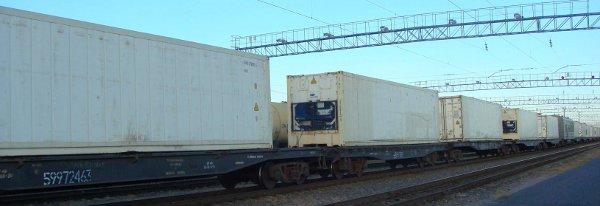 ЖД перевозка скоропортящихся продуктов