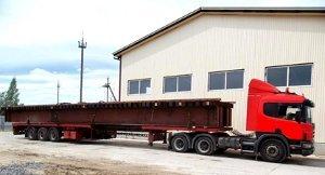 Автоперевозка длинномерных грузов