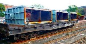 Железнодорожная перевозка негабаритных грузов
