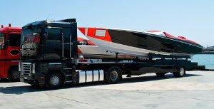 Транспортировка плавающих средств: яхт и катеров