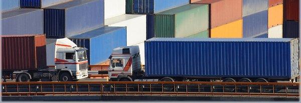 Фиксация груза в контейнере при перевозке