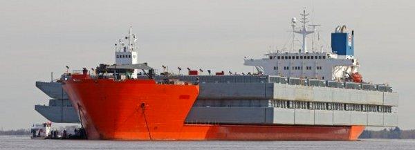 Морские перевозки негабаритных грузов