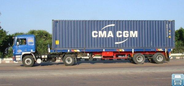 Автомобильные контейнеровозы фото