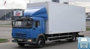 Среднетоннажные грузовики Камаз