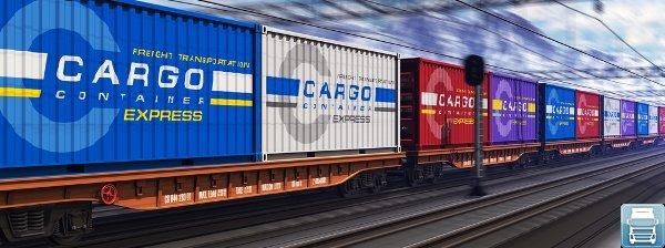 Контейнерная перевозка грузов по железной дороге