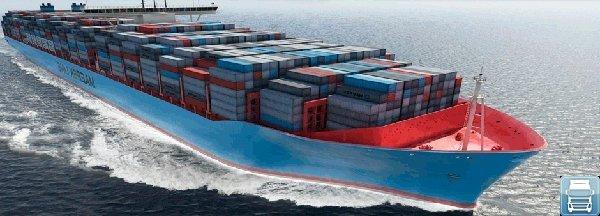Морские контейнерные перевозки грузов из Китая