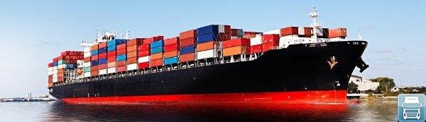 Морская доставка грузов из КИТАЯ в РОССИЮ