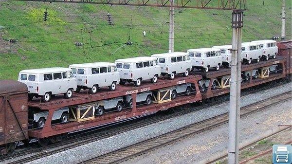 Перевозки автомобилей по России
