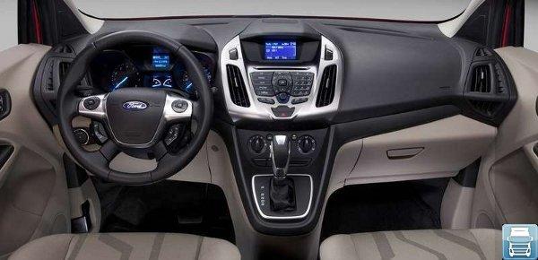 Форд Транзит Коннект панель приборов