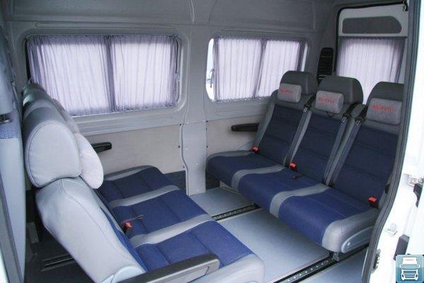 Ситроен Джампер пассажирский салон