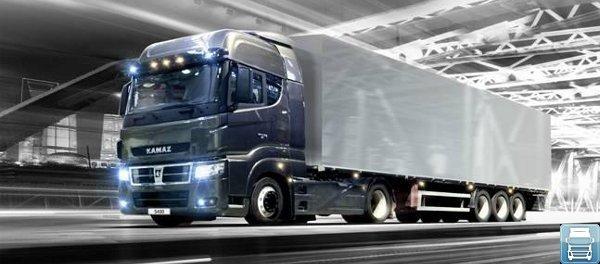 грузовик камаз 5490