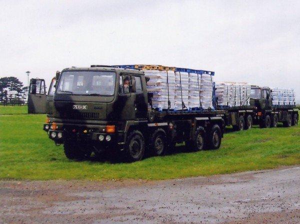 Подготовка грузового автомобиля к перевозке