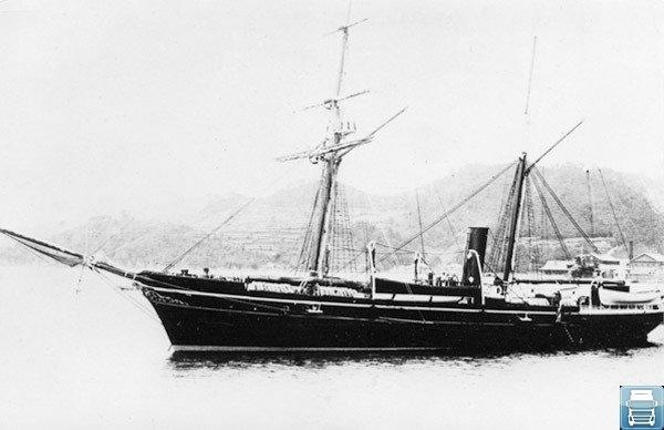 Судно середины XIX века