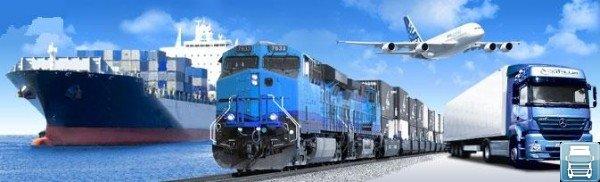 средства транспортировки грузов самолет поезд баржа фура
