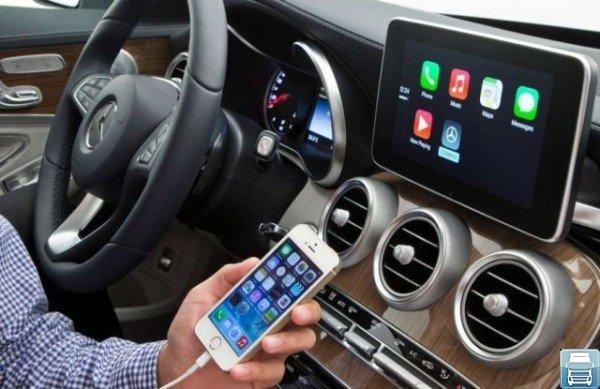 CarPlay и iPhone5