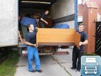 Погрузка мебели в автомобиль