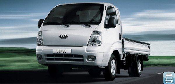 KIA Bongo III на дороге
