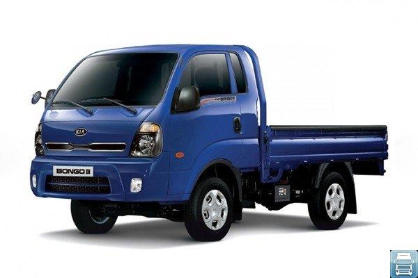 KIA Bongo III синего цвета