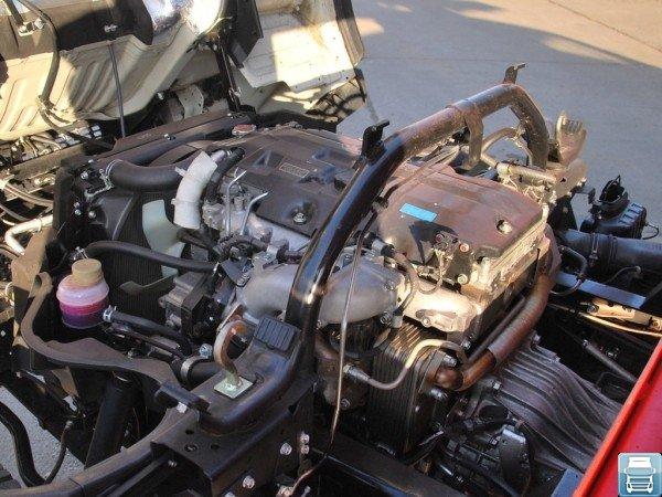 Двигатель 4M50-5AT5, установленный на Mitsubishi Fuso Canter