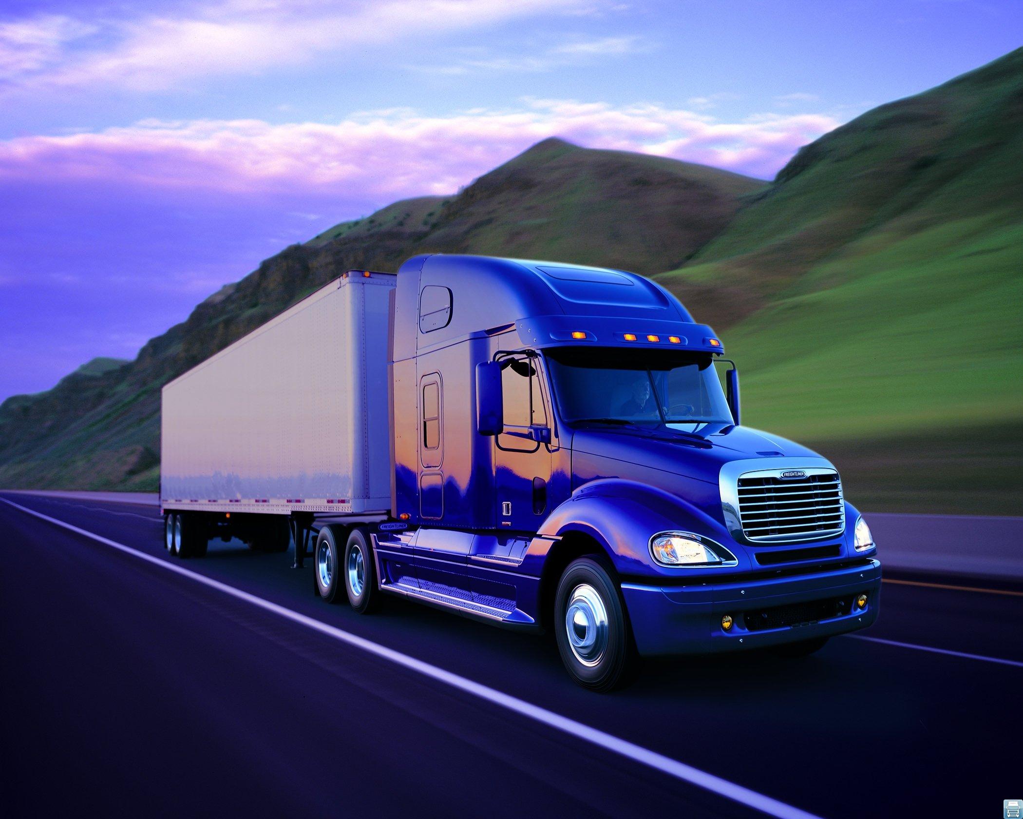 Экономичный грузовик Freightliner Columbia — отличный вариант для российских дальнобойщиков