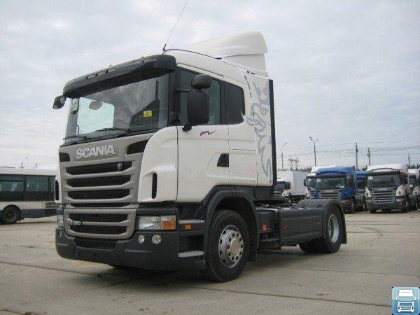 Тягач Scania G400 без прицепа