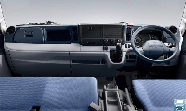 Mitsubishi Fuso Canter с правым расположением руля