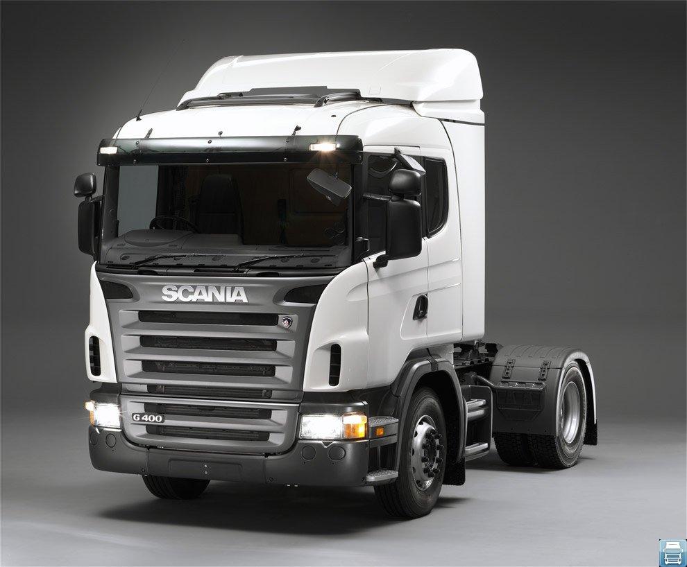 Надёжный седельный тягач Scania G400