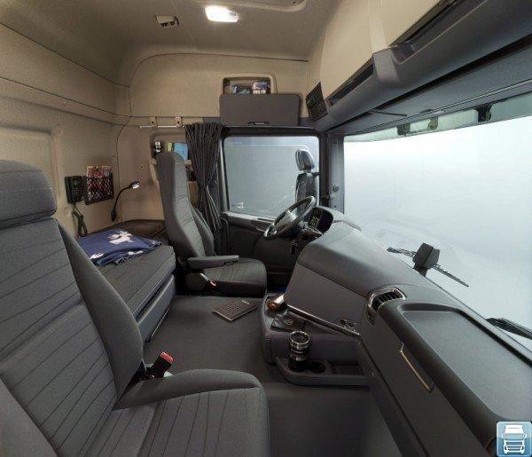 Фото кабины Scania G400