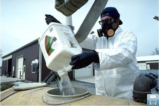 Утилизация токсических отходов