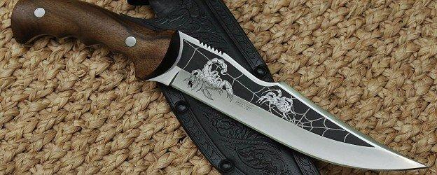 нож и чехол для него