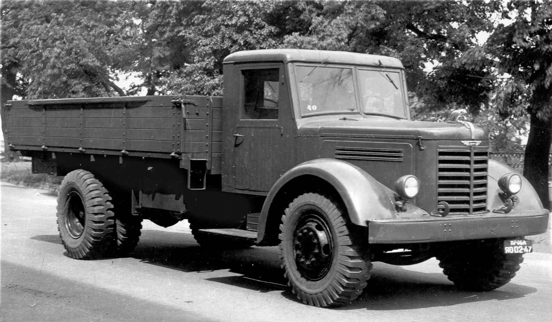 Маз-200: универсальныйгрузовик времён СССР