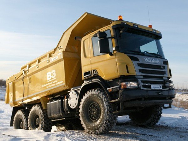 Самосвал Scania P400CB6x6EHZ