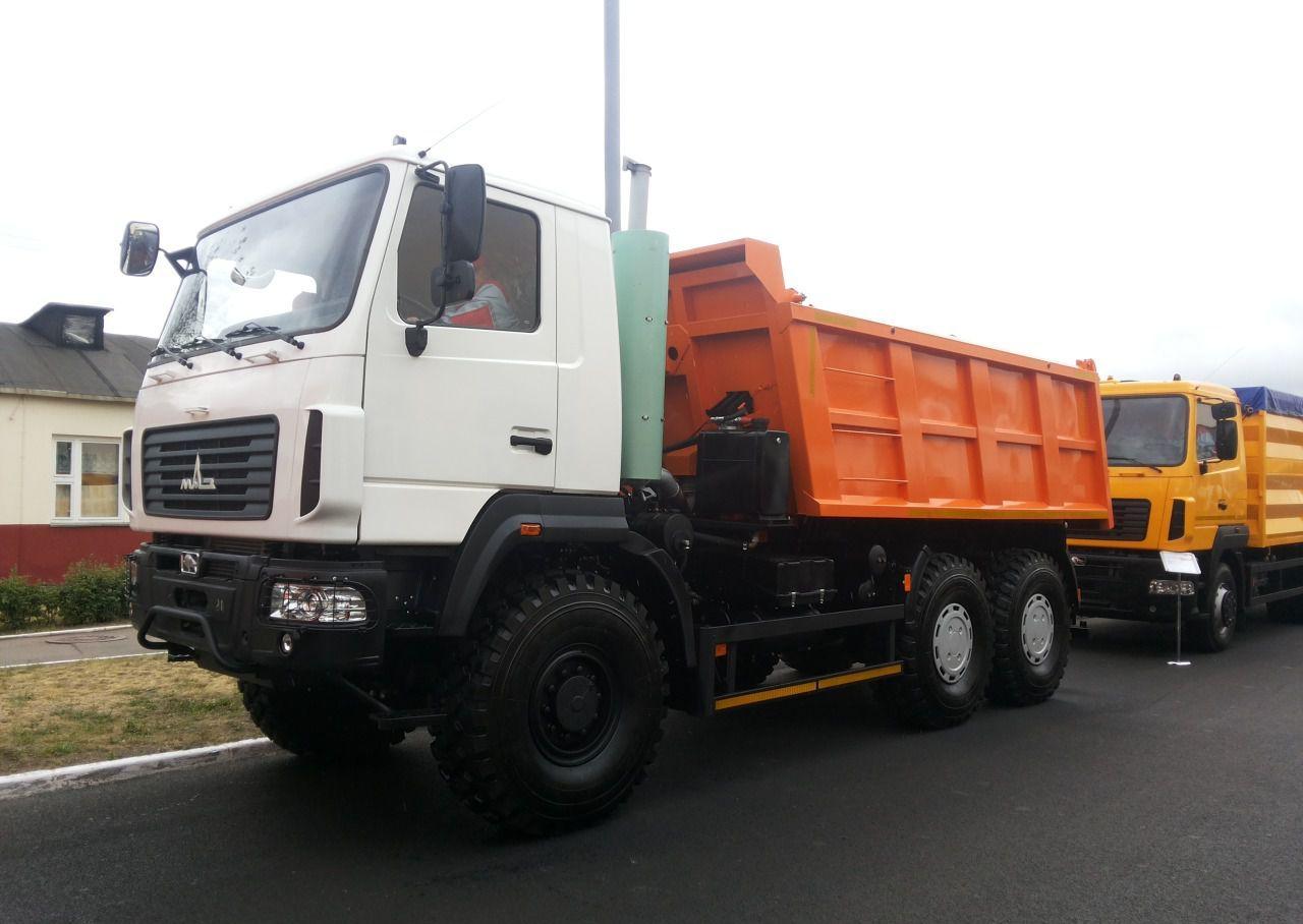 Минский автозавод выпустил новый МАЗ -6502Н9