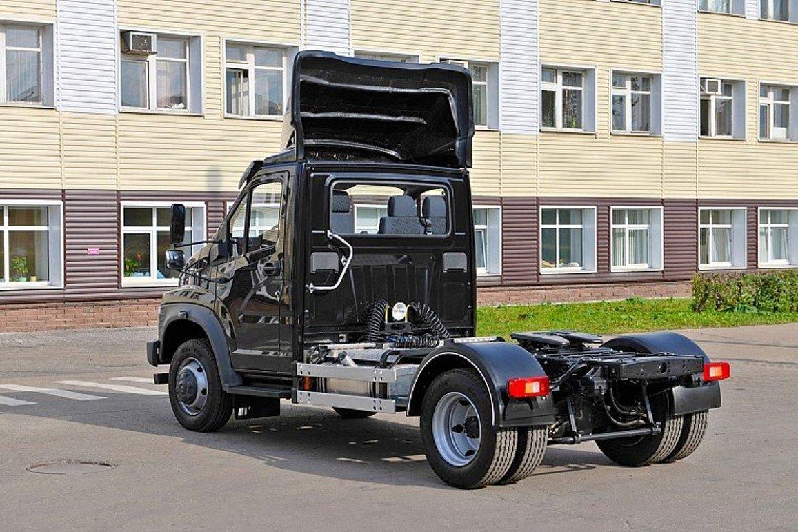 Прототип седельного тягача ГАЗ