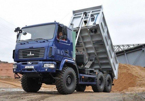 Самосвал МАЗ-6502Н9