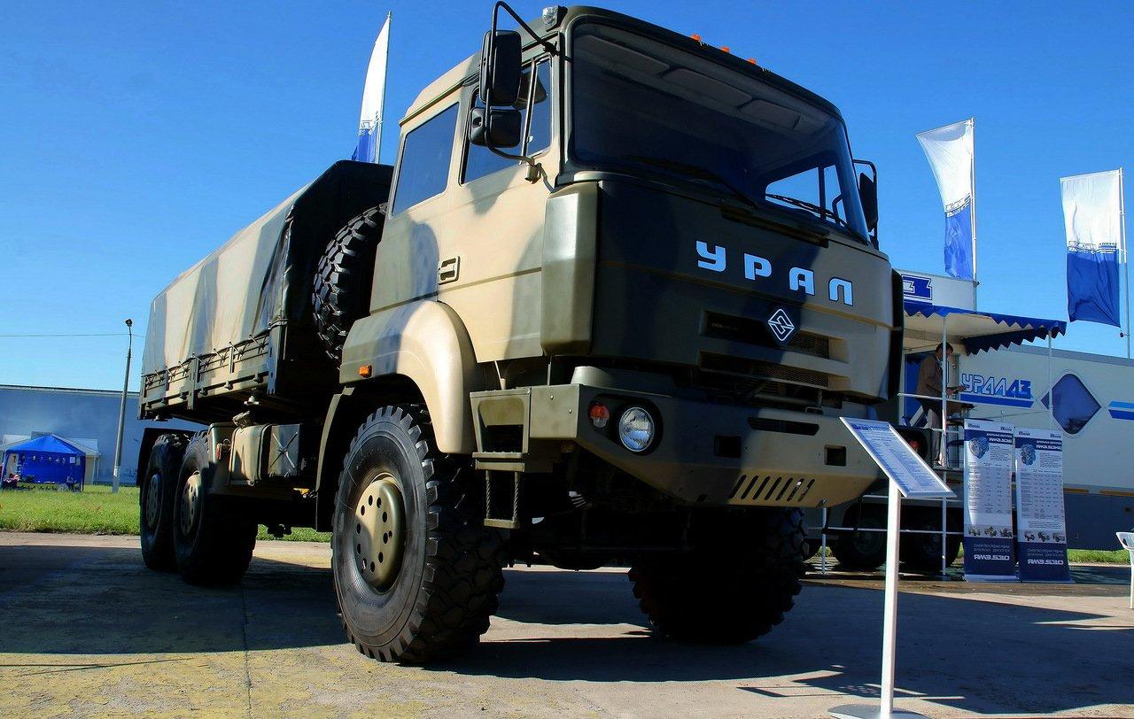 Технические характеристики грузовика Урал 6370
