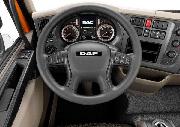 В кабине DAF LF 2016 Edition