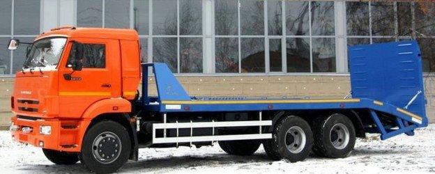 Эвакуатор на шасси КАМАЗ-65115