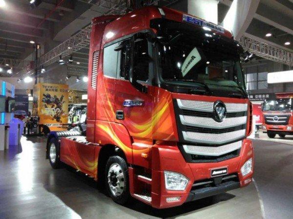 Концепт супергрузовика Foton