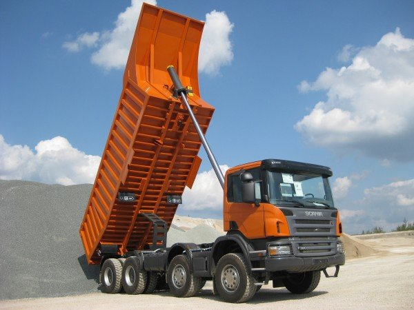 Самосвал Scania Astator