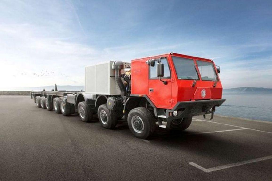 Tatra представила самый мощный грузовик