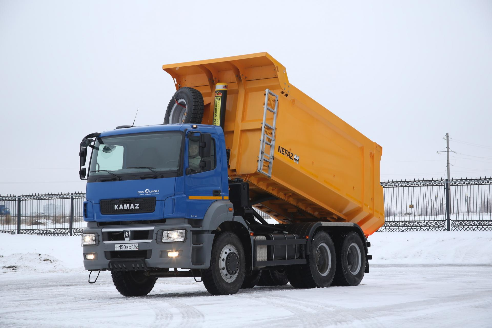 КАМАЗ установит на автомобили кабины от немецкого производителя