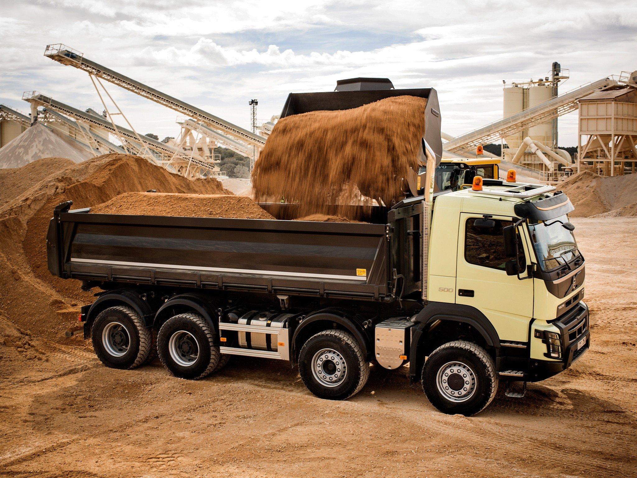 Виды насыпных и навалочных грузов и особенности их транспортировки
